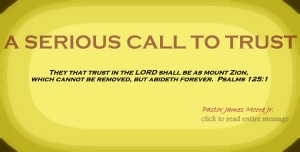 call to trust